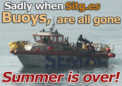 """sitges-buoys-are-gone • <a style=""""font-size:0.8em;"""" href=""""http://www.flickr.com/photos/90259526@N06/15773620965/"""" target=""""_blank"""">View on Flickr</a>"""