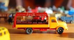 Viking-Cola (miramann) Tags: auto car childhood toy coke pickup plastic cocacola viking spielzeug lieferwagen 1960 kindheit plastik deliveryvan 0457 miramann länge6cm dustofchildhood medizindervergangenheit