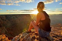 USA_94 (jjay69) Tags: travel sunset vacation usa holiday america landscape us nationalpark unitedstates dusk grandcanyon nevada scenic roadtrip canyon journey views wonderoftheworld stunningview 7naturalwonders womanenjoyingsunset