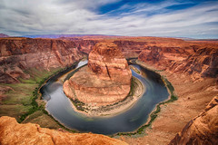 Horseshoe Bend (Bryan the Roving Vagabond) Tags: arizona america landscape bend outdoor canyon page horseshoe