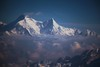 Everest Peak (Heaven`s Gate (John)) Tags: blue nepal sky mist snow mountains sunshine clouds atmosphere peak mount everest sherpa tenzing himalyas edmundhillary 50faves 10faves johndalkin heavensgatejohn 22faves