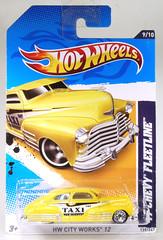HOT-2012-139-Taxi (adrianz toyz) Tags: hotwheels 164 scale diecast model toy car chevy chevrolet fleetline 1947 adrianztoyz