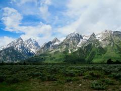 Teton views #9 (jimsawthat) Tags: mountains sky cluds grandtetons rural wyoming grandtetonnatioonalpark