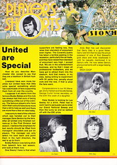 Coventry City vs Manchester United - 1981 - Page 39 (The Sky Strikers) Tags: coventry city manchester united highfield road sky blue official matchday magazine 30p football league division one