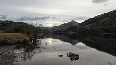 Llyn Gwynant (abstract_effects) Tags: abstracteffects wales snowdonia mountain lake sun sky reflection autumn october 2016 canoneos5dmk2 canonef24105mmf4