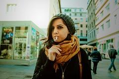 (GRUNGE PHOTOGRAPHER) Tags: indie torino urban smoking street girl
