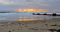 morning blues (jules 500) Tags: blythbeach dawn sunrise northumberland coast sea waves sand pipe canon october 2016 blyth beach