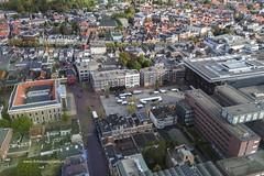 Uitzicht vanuit de Achmeatoren in Leeuwarden (Frits Kooijmans) Tags: 2016 leeuwarden nederland uitzicht achmeatoren zaailand friesmuseum