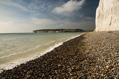 Cuckmere Haven (Explored) (sharongellyroo) Tags: sussex holidays cuckmerehaven walkies beach sevensisters inexplore