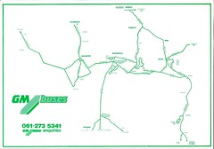 GM Buses Rossendale Area Bus Guide 26101986 Route Map (Rossendalian2013) Tags: bus deregulation rossendale lancashirecountycouncil tendered gmbuses timetable booklet