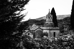 Hush (bauscia99) Tags: bn blackandwhite bw biancoenero cemetery mammola calabria italia italy landscapes fotoamatorigioiesi