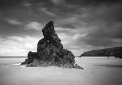 Rock star (SkyeBaggie) Tags: sango durness sutherland pinnacle sky scotland rock landscape canon 5dii zeiss ze 21mm sand north coast 500