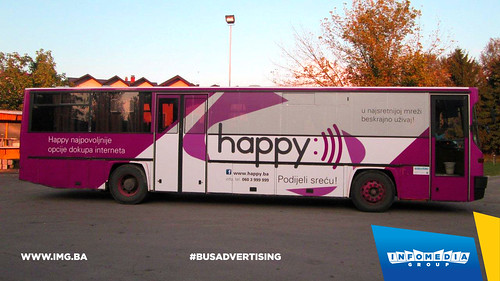 Info Media Group - BH Telecom Happy, BUS Outdoor Advertising, 09-2016 (4)