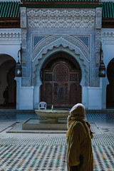 At the Mosque (cekuphoto) Tags: 2010 d70 fez morocco november