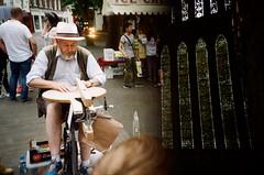 York (iampaulrus) Tags: paulfargher paulfargherphotography colour color 35mm film filmisnotdead lomography lomo lca splitzer doubleexposure multipleexposure craft york yorkshire yokminster hat beard stainedglass photoexpresshull