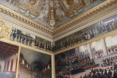 Versailles - Pomp and Ceremony (big_jeff_leo) Tags: paris louis versailles palace architecture gold heritage building statelyhome historic art ceiling fresco imperial unesco hallofmirrors french royal