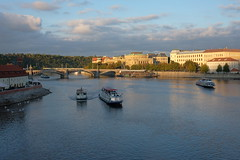 Prague (coachgodzup1) Tags: prague river fujifilm xt10 xf27mm blue sunset boat romantic