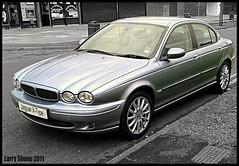 X-Type (larry_shone) Tags: car jaguar xtype urban selectivecolour