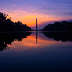 Sunrises Over Washington (Thomas Hawk) Tags: america districtofcolumbia usa unitedstates unitedstatesofamerica washingtondc washingtonmonument sunrise washington us fav10 fav25 fav50 fav100