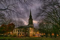 20161128_St Pauls Church (Damien Walmsley) Tags: stpaulschurch stpaulssquare jewelleryquarter dawn sky clouds light trees birmingham