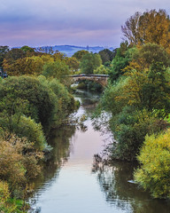 Stamford Bridge (JonnyVSM) Tags: river derwent autumn wow colours colour color landscape nature water leaves trees sky green blue purple magenta tree clouds yellow brown orange bridge