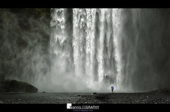 In front of Skogafoss (Yiannis Chatzitheodorou) Tags: iceland   waterfall skogafoss water landscape outdoor nature