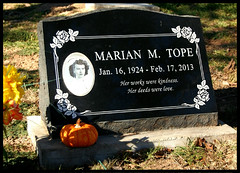 Nurse Marian (~ Lone Wadi Archives ~) Tags: mountainviewcemetery headstone tombstone gravestone finalrestingplace americansouthwest graveyard nurse prescottarizona yavapaicounty