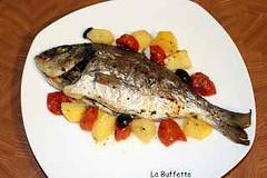 ORATA IN CARTOCCIO AL FORNO VELOCE (RicetteItalia) Tags: ricette di pesce orata al forno