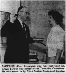 East Brunswick Township Committeeman swear-in, 1964 (Ereiss1) Tags: vintage eastbrunswick nj