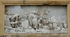 """Bologna Il Pincio """"La distruzione della rocca di Galliera"""" di Arturo Orsoni (Paolo Bonassin) Tags: italy emiliaromagna bologna bolognapiazzaxxsettembre relief bassorilievo art artisticexpression artistic sculptures sculture statue bolognailpincio"""