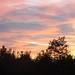 Morning sky, Christiansburg, Virginia