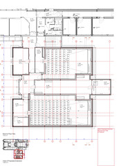 477C Further Extension to Galeri Caernarfon-Second Floor Plan