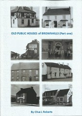 Book - Old Public Houses  of Brownhills - Part One (touluru) Tags: brownhills bar tavern beer pub publichouse public house the pear tree cottage inn hednesford road chase watling street newtown a5the terrace hoofbeats petrol pantrywatling a5 clive l roberts