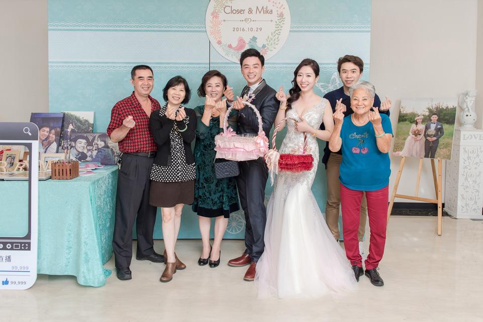 台南婚攝 婚禮紀錄 情定婚宴城堡 C & M 176