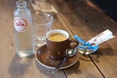 The usual (graufuchs) Tags: fuji fujifilm fujifilmxpro1 xpro1 jpeg nolightroom nofilter fixedfocal coffee water sugar spoon table caf middelburg walcheren zeeland netherlands nederland niederlande 35mm