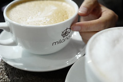 Coffee Time (Photo Alan) Tags: coffee coffeetime cafe milk dairy breakfast healthy food snack nutrition nutritious spoonful closeup cup vancouver canada white