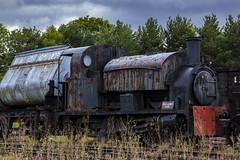 Train 2 (lancscacher) Tags: beamish train locomotive canoneos500d rust decay abandoned railway sigma1770mm corrosion