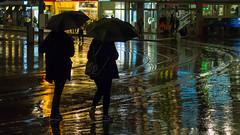 Regenwetter (urs.wirth) Tags: nacht zürich zurich regen umbrella eos70d switzerland schirme stadelhofen canon rain schweiz night