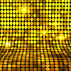 Shiny gold mosaic background (julieta_minimundos) Tags: background gold mosaic circle round dot spotted roundel speckled color yellow brown shiny shining sparkling glow light flare illuminated luminous radiant illuminating geometric abstract element many shape vector square pattern decorative wallpaper