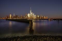 Golden Hour (karinavera) Tags: travel sonya7r2 newyork golden view sunset manhattan newport cityscape city