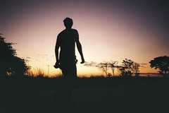 THE TIME IS CLOSE (Francesco Frizzera) Tags: nature vibes savannash africa vibe francescofrizzera wild blow filmphotography filmisnotdead nikonf70 kodak kodakportra iso200 photography