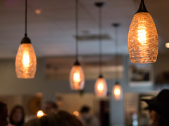 Wine Bar Lights (jon_nelson12) Tags: panasonic lumix gx7 willmore wine bar longbeach california bixbyknolls first fridays friday light lamp