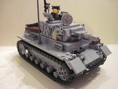 Panzer III ausf. N (jack_dewolf) Tags: legoww2 legowwii legopanzer3 legopanzeriii legoww2panzer3 legoww2panzeriii legowwiipanzer3 legowwiipanzeriii legomilitary legoarmy lego legotank
