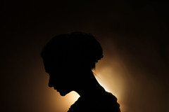 (Joanna Justyna) Tags: selfportrait self portrait shadow light wall silhouette