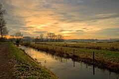 The Bourgoyen at dawn (Roland B43) Tags: sunrise dawn ghent bourgoyen belgium
