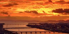 Osaka, Sunset (szeke) Tags: 2016 city cityscape japan osaka sonya7s sunset urban year zeiss2470mmf4 sakafu jp