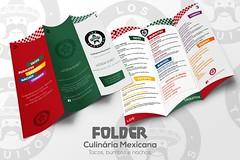 arte folder sem preços ((keevb)) Tags: los taquitos culinária mexicana arte photoshop folder cartão visita facebook cardápio kvlyn