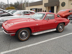 1966 Chevy Corvette (splattergraphics) Tags: 1966 chevy corvette c2 carshow streetsurvivorsofmd