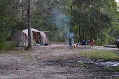Camping (markinaustralia) Tags: camping nature wild adventure travelling fire car 4wd stateforest park