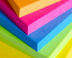 Post-it Pizzazz (benjaminjohnson1983) Tags: 2016 abstract colour corner dynamic edge flickr hemelhempstead macro macromondays paper postit spectrum steps stickynotes vibrant